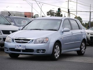 2006 Kia Cerato LD EX Blue Manual Hatchback