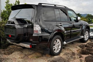 2020 Mitsubishi Pajero NX MY21 Exceed Pitch Black 5 Speed Sports Automatic Wagon.