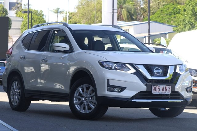 Demo Nissan X-Trail T32 Series III MY20 ST-L X-tronic 2WD Newstead, 2020 Nissan X-Trail T32 Series III MY20 ST-L X-tronic 2WD Ivory Pearl 7 Speed Constant Variable