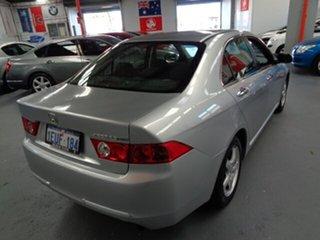 2005 Honda Accord Euro CL Silver 5 Speed Automatic Sedan