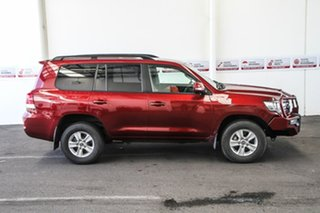 2017 Toyota Landcruiser VDJ200R GXL Merlot Red 6 Speed Sports Automatic Wagon