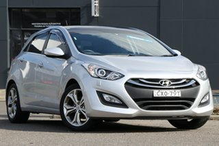2015 Hyundai i30 GD3 Series II MY16 Premium Silver 6 Speed Sports Automatic Hatchback.
