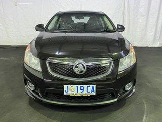 2011 Holden Cruze JH Series II MY11 SRi Black 6 Speed Sports Automatic Sedan.