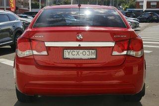 2014 Holden Cruze JH Series II MY14 Equipe Red 5 Speed Manual Sedan