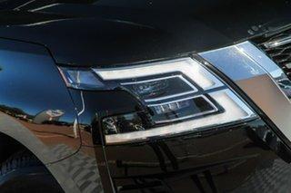 2020 Nissan Patrol Y62 Series 5 MY20 TI-L Black Obsidian 7 Speed Sports Automatic Wagon