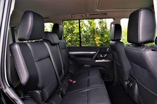 2020 Mitsubishi Pajero NX MY21 Exceed Pitch Black 5 Speed Sports Automatic Wagon