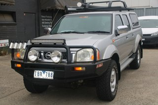 2004 Nissan Navara D22 ST-R (4x4) 5 Speed Manual Dual Cab Pick-up