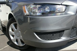 2013 Mitsubishi Lancer CJ MY14 ES Silver 6 Speed Constant Variable Sedan.