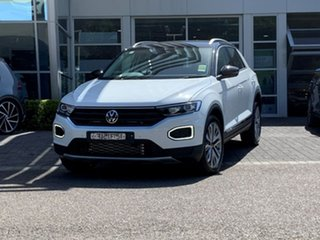 2020 Volkswagen T-ROC A1 MY21 110TSI Style Black 8 Speed Sports Automatic Wagon.