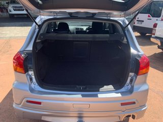 2012 Mitsubishi ASX XA MY12 (2WD) Silver Continuous Variable Wagon