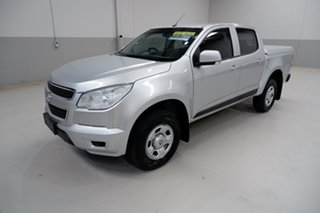 2015 Holden Colorado RG MY15 LS Crew Cab 4x2 Silver 6 Speed Sports Automatic Utility.