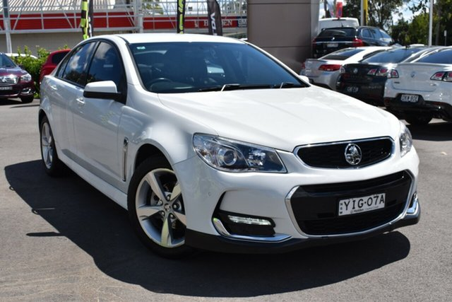 Used Holden Commodore VF II MY16 SV6 Tuggerah, 2016 Holden Commodore VF II MY16 SV6 White 6 Speed Sports Automatic Sedan