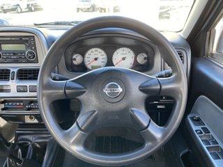 2011 Nissan Navara D22 MY2010 ST-R Brilliant Silver 5 Speed Manual Utility