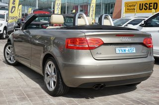 2009 Audi A3 8P MY10 TFSI S Tronic Ambition Beige 6 Speed Sports Automatic Dual Clutch Convertible