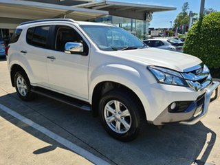 2014 Isuzu MU-X MY15 LS-T Rev-Tronic White 5 Speed Sports Automatic Wagon.