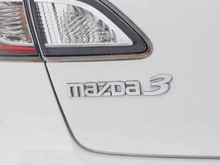 2011 Mazda 3 BL 11 Upgrade Neo White 5 Speed Automatic Sedan