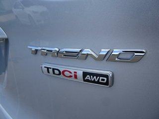 2013 Ford Kuga TF Trend PwrShift AWD Moondust Silver 6 Speed Sports Automatic Dual Clutch Wagon