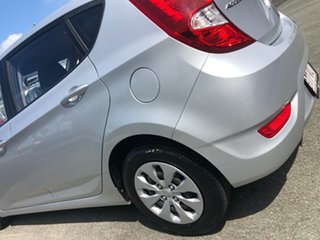 2013 Hyundai Accent RB Active Silver 5 Speed Manual Hatchback