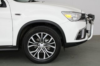 2017 Mitsubishi ASX XC MY18 LS 2WD White 5 Speed Manual Wagon