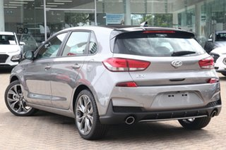 2020 Hyundai i30 PD.V4 MY21 N Line Premium Amazon Gray 6 Speed Manual Hatchback.