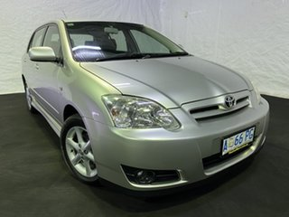 2004 Toyota Corolla ZZE122R Ascent Silver 5 Speed Manual Hatchback