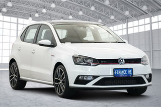2016 Volkswagen Polo 6R MY17 GTI DSG White 7 Speed Sports Automatic Dual Clutch Hatchback.