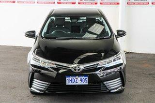 2019 Toyota Corolla ZRE172R Ascent S-CVT Eclipse Black 7 Speed Constant Variable Sedan.