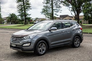 2014 Hyundai Santa Fe DM MY14 Active Grey 6 Speed Sports Automatic Wagon.