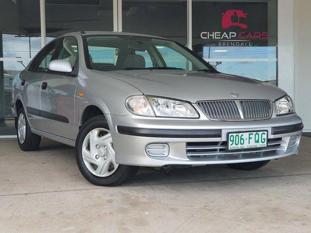Used Nissan Pulsar N16 ST Brendale, 2000 Nissan Pulsar N16 ST Silver 4 Speed Automatic Sedan