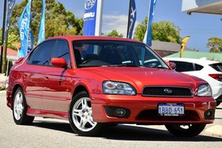 2001 Subaru Liberty B3 MY01 Heritage AWD Red/Black 4 Speed Automatic Sedan
