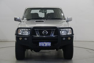 2011 Nissan Patrol GU 7 MY10 ST Silver 5 Speed Manual Wagon.