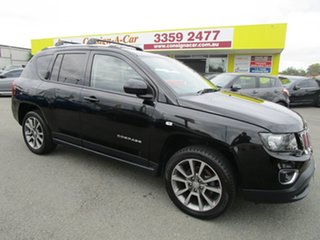 2015 Jeep Compass MK MY15 Limited Black 6 Speed Sports Automatic Wagon.