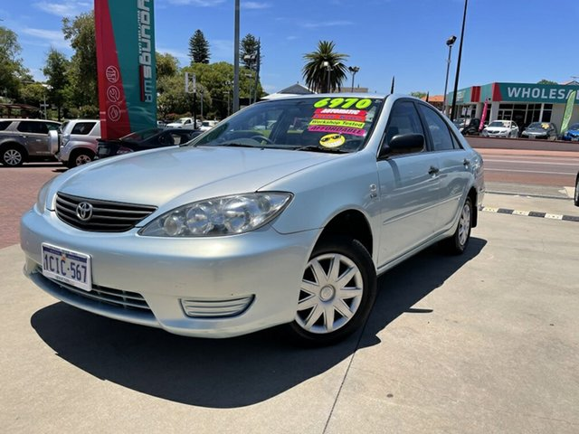 Used Toyota Camry ACV36R Altise Victoria Park, 2005 Toyota Camry ACV36R Altise Blue 4 Speed Automatic Sedan