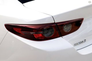2020 Mazda 3 BP2SLA G25 SKYACTIV-Drive GT White 6 Speed Sports Automatic Sedan.
