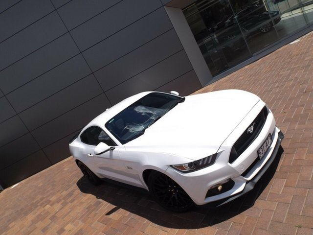 Used Ford Mustang FM GT Fastback SelectShift Toowoomba, 2016 Ford Mustang FM GT Fastback SelectShift White 6 Speed Sports Automatic Fastback