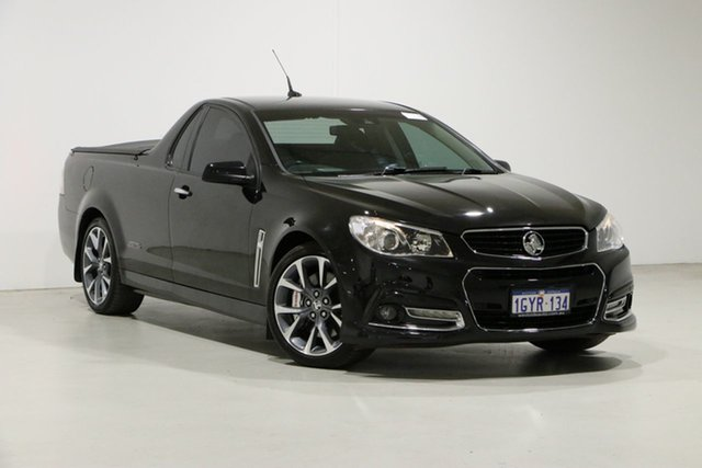 Used Holden Ute VF SS-V Redline Bentley, 2013 Holden Ute VF SS-V Redline Black 6 Speed Automatic Utility