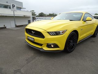 2016 Ford Mustang FM GT Fastback Triple Yellow 6 Speed Manual Fastback
