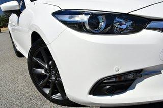 2018 Mazda 3 BN5438 SP25 SKYACTIV-Drive White 6 Speed Sports Automatic Hatchback.