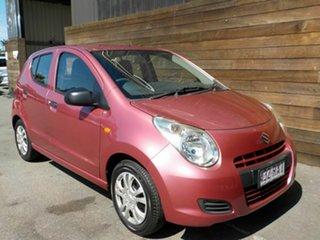 2010 Suzuki Alto GF GL Pink 4 Speed Automatic Hatchback.