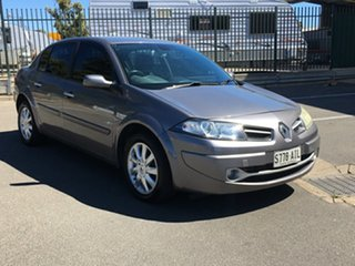 2009 Renault Megane II L84 Phase II Exception dCi Grey 4 Speed Sports Automatic Sedan.