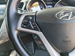2014 Hyundai Veloster FS3 + Coupe D-CT Black 6 Speed Sports Automatic Dual Clutch Hatchback