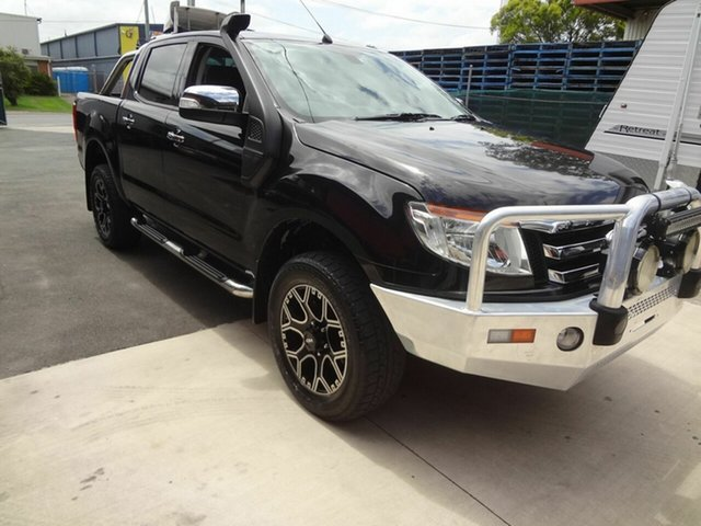 Used Ford Ranger PX XLT 3.2 (4x4) Coopers Plains, 2013 Ford Ranger PX XLT 3.2 (4x4) Black 6 Speed Manual Double Cab Pick Up