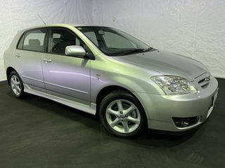 2004 Toyota Corolla ZZE122R Ascent Silver 5 Speed Manual Hatchback.