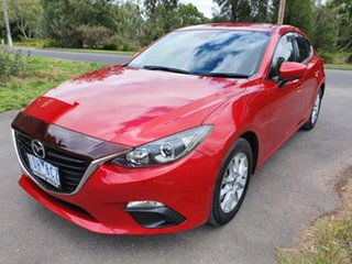 2014 Mazda 3 BM Series Maxx Red Sports Automatic Hatchback.