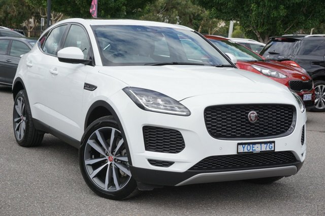 Used Jaguar E-PACE X540 19MY Standard SE Phillip, 2019 Jaguar E-PACE X540 19MY Standard SE White 9 Speed Sports Automatic Wagon