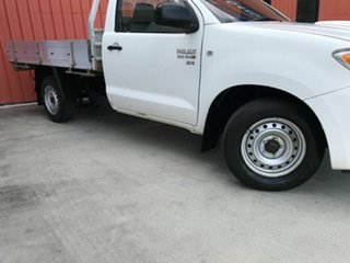 2006 Toyota Hilux KUN16R MY07 SR 4x2 White 5 Speed Manual Cab Chassis