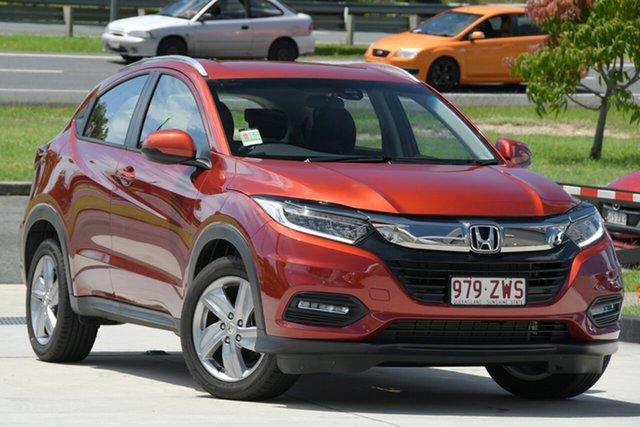 Demo Honda HR-V MY21 VTi-S North Lakes, 2020 Honda HR-V MY21 VTi-S Passion Red 1 Speed Constant Variable Hatchback