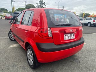 2008 Hyundai Getz TB MY07 S Red 4 Speed Automatic Hatchback