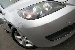 2008 Mazda 3 BK10F2 Maxx Sunlight Silver 4 Speed Sports Automatic Hatchback.