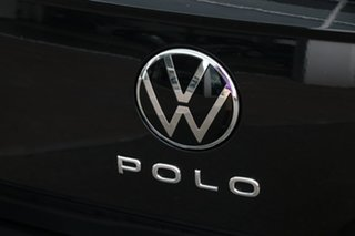 2020 Volkswagen Polo AW MY21 85TSI DSG Style Deep Black Pearl Effect 7 Speed